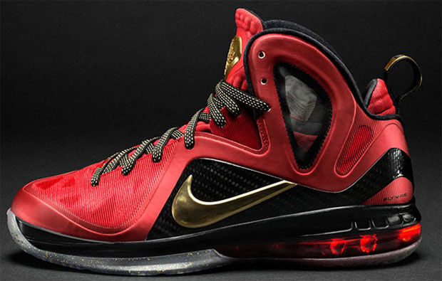 NIKE - LEBRON 9 ELITE PS. 'CHAMPION'