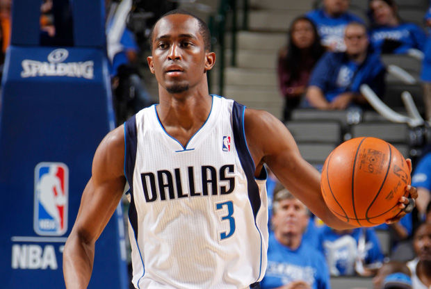Rodrigue Beaubois, base de los Dallas Mavericks./ Getty