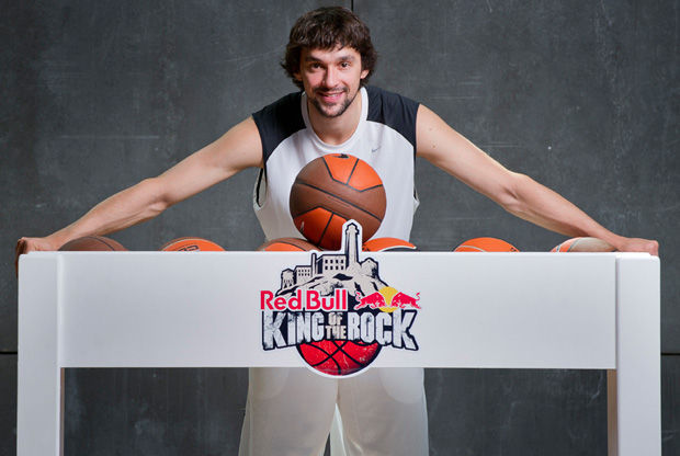 Sergio Llull, jugador del Real Madrid y padrino de la final española del Red Bull King of the Rock