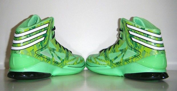 Adidas Adizero Crazy Light 2 Neon Green Camo
