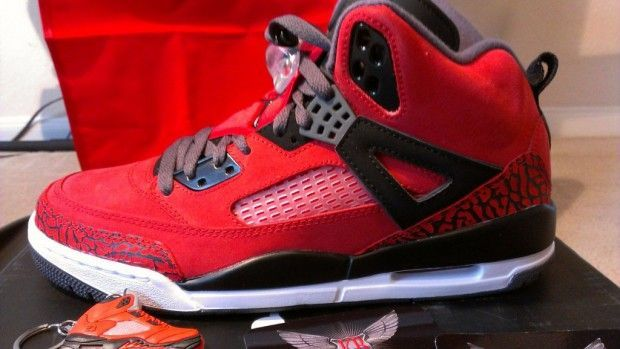 Jordan Spizike Gym Red