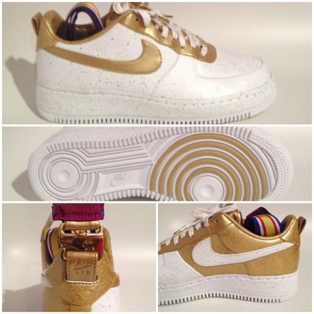 Nike Air Force 1 Team USA Gold Medal