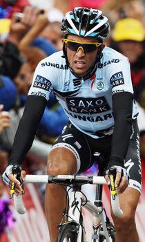 Alberto Contador./ Getty Images