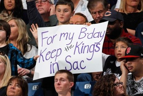 Sacramento Kings fans./ Getty Images
