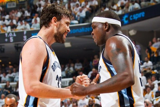 Marc Gasol y Zach Randolph./ Getty Images