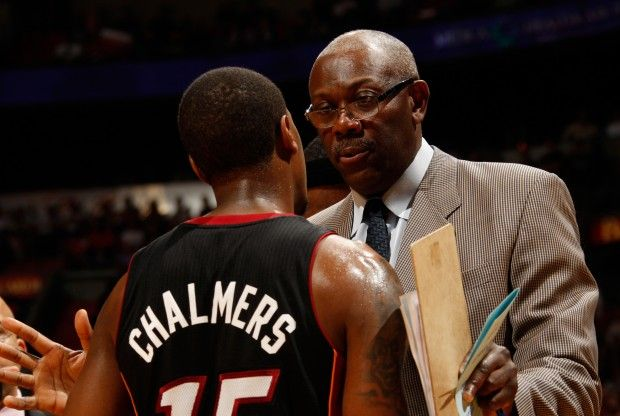 Mario Chalmers y Bob McAdoo./ Getty Images