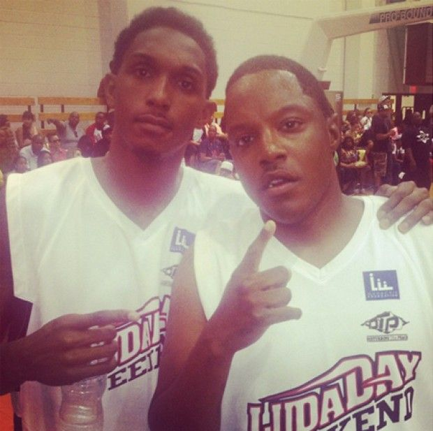 Lou Williams y Ma$e./ Twitter