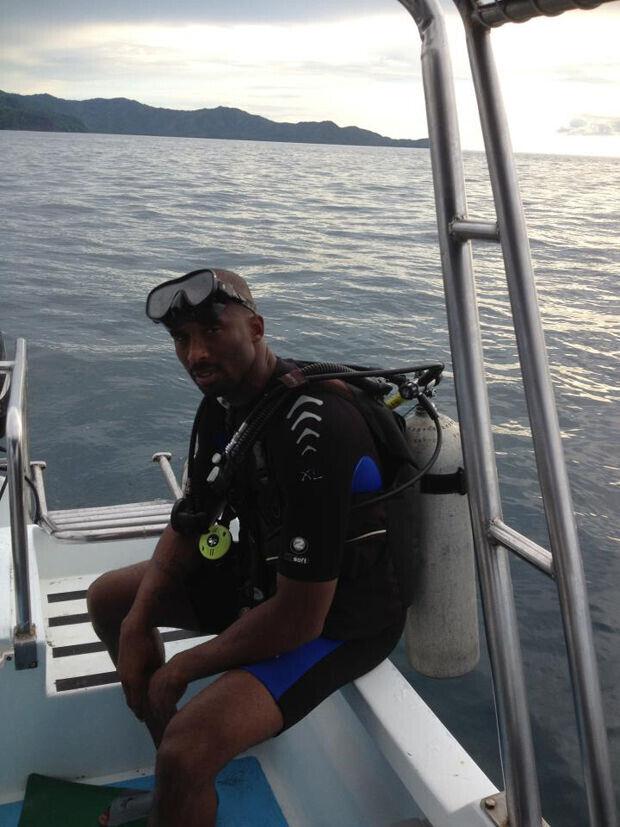 Las vacaciones de Kobe Bryant en el mar y la montaña