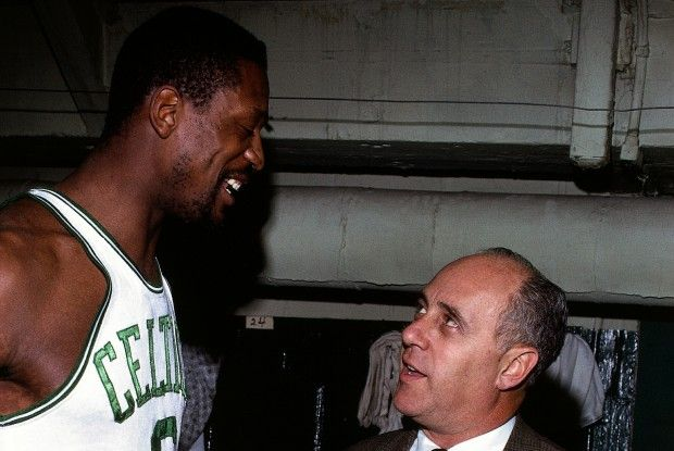 Bill Russell y Red Auerbach./ Getty Images