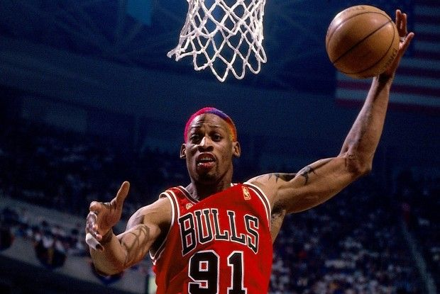 Dennis Rodman./ Getty Images