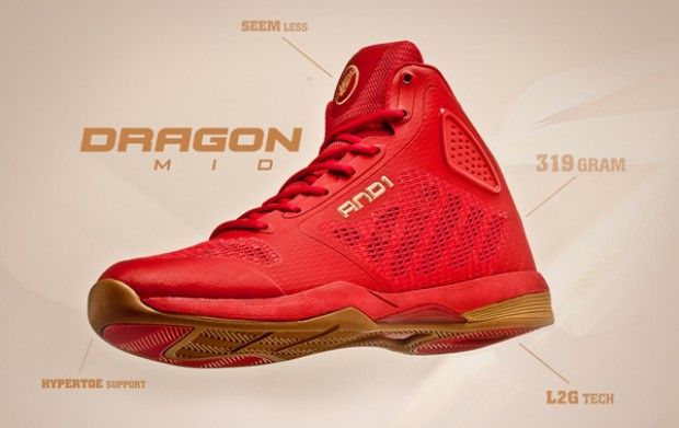 And1 Dragon Red