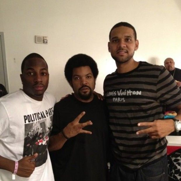 Ice Cube y Jared Dudley