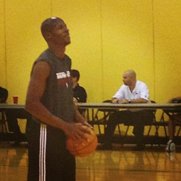 Ray Allen entrena por primera vez con Miami Heat