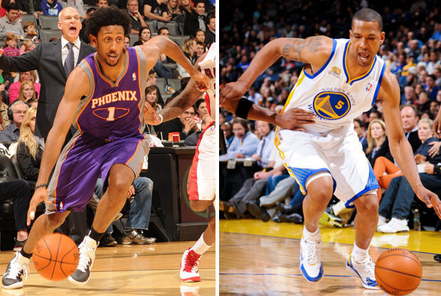 Josh Childress y Dominic McGuire./ Getty Images