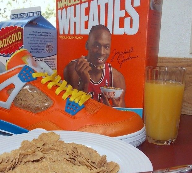 Air Jordan IV Wheaties