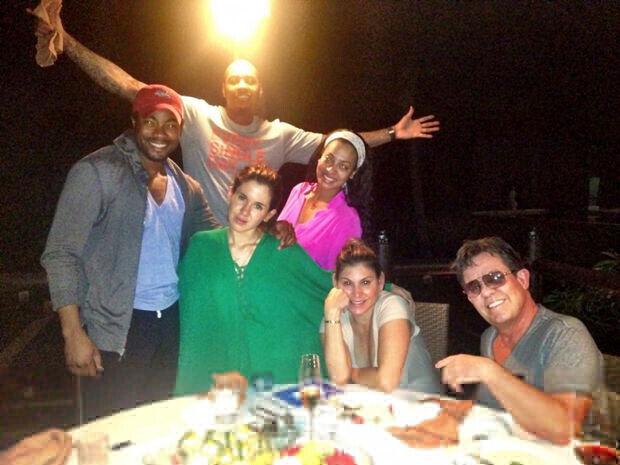 Carmelo Anthony y Lala disfrutan de sus vacaciones en Tailandia