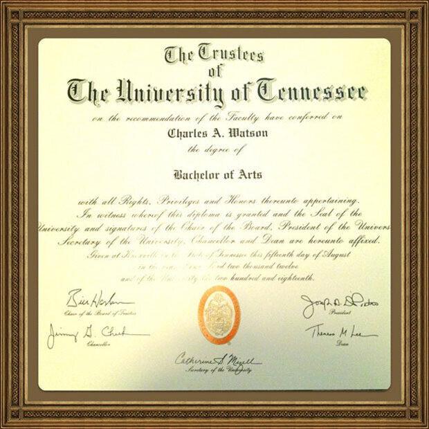 C.J. Watson se licencia en Psicología por la Universidad de Tennessee