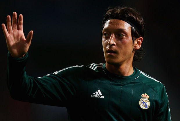Mesut Özil, internacional alemán del Real Madrid./ Getty