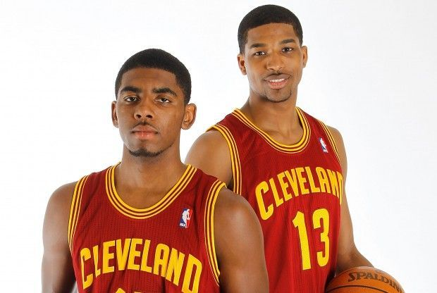 Kyrie Irving y Tristan Thompson./ Getty Images