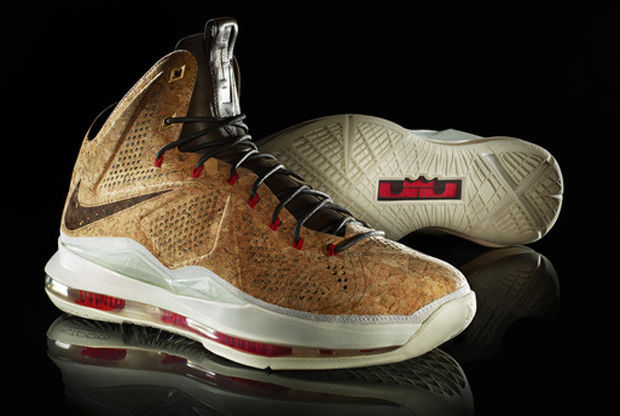 Nike - LeBron X 'Champagne Cork'