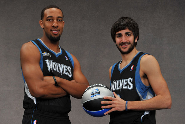 Derrick Williams y Ricky Rubio ./ Getty Images
