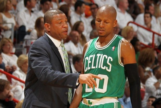 Doc Rivers y Ray Allen./ Getty Images