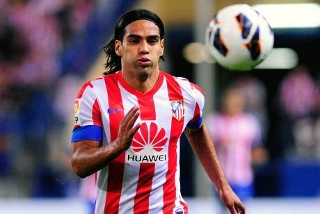 Falcao./ Getty Images