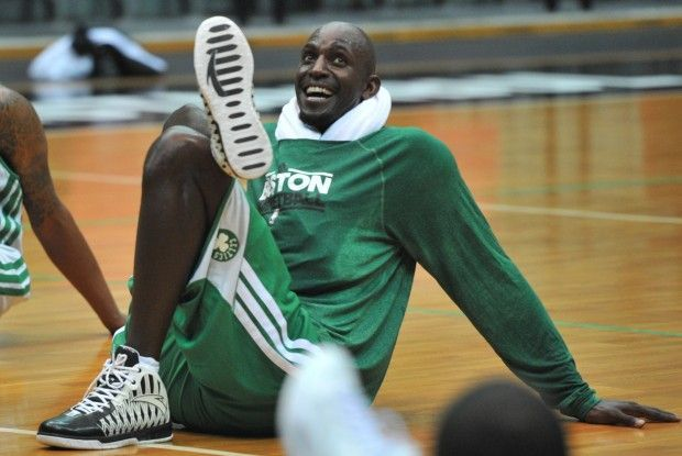 Kevin Garnett./ Getty Images