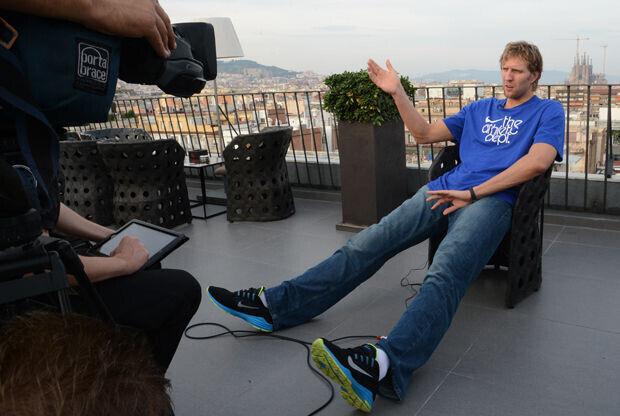 Dirk Nowitzki./ Getty Images