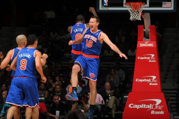 J.R. Smith y Steve Novak./ Getty Images