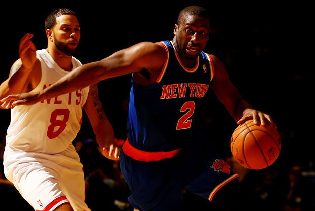 Raymond Felton y Deron Williams./ Getty Images