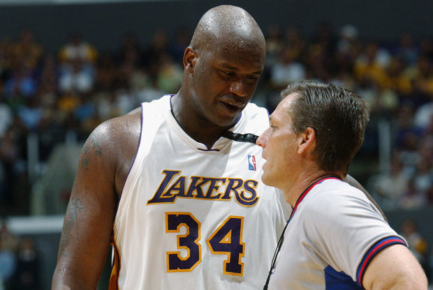 Shaquille O'Neal y Greg Willard./ Getty Images