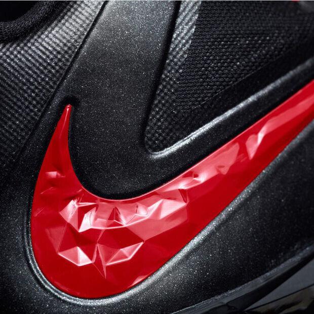 Nike - LeBron X 'Away Black/Red'