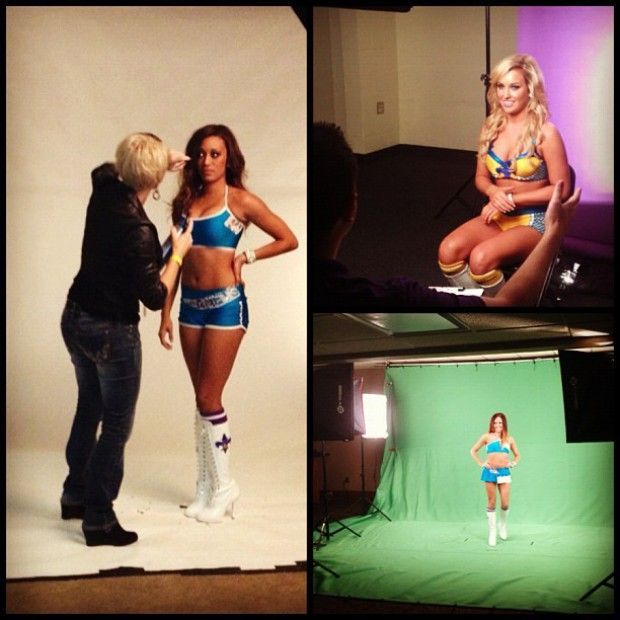 New Orleans Hornets dancer./ Twitter