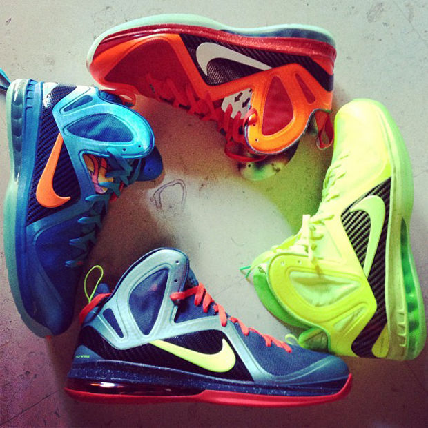 Nike - LeBron 9 Elite 'Colorways'