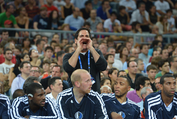 Mark Cuban, propietario de los Dallas Mavericks./ Getty