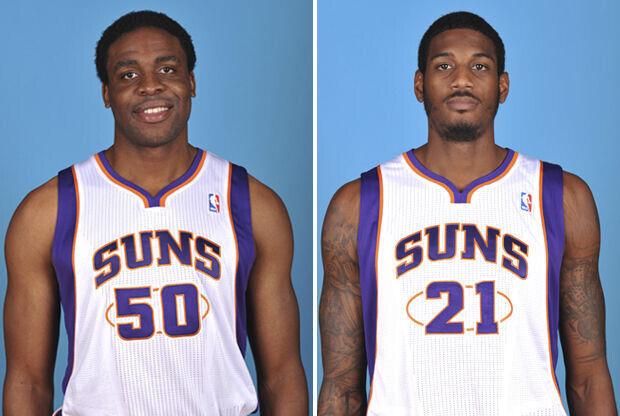 Ike Diogu y Solomon Jones./ Getty Images