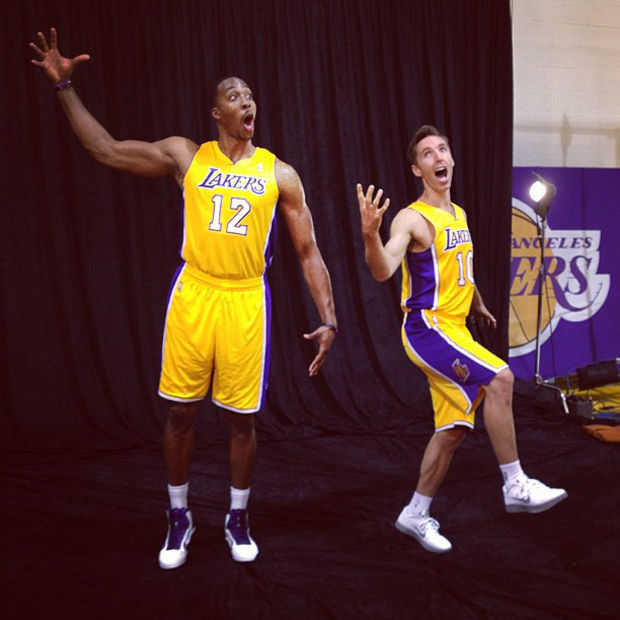 Dwight Howard y Steve Nash