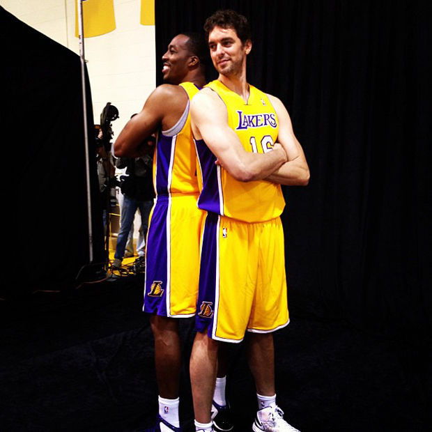 Pau Gasol y Dwight Howard