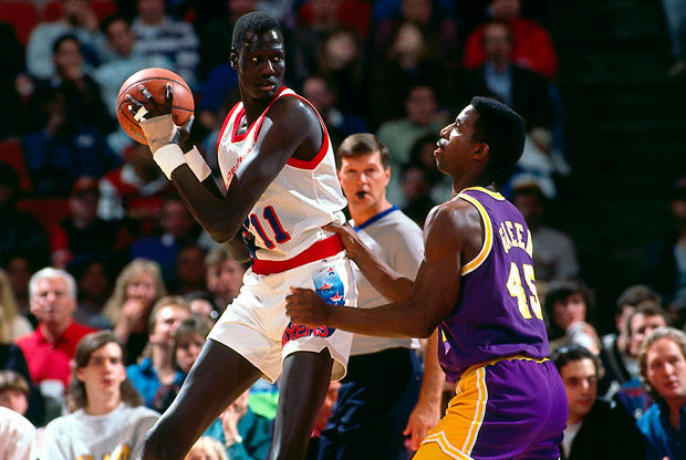 Manute Bol./ Getty