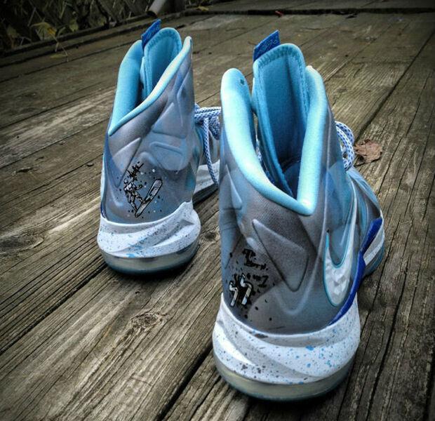 Nike - LeBron X 'Silver Surfer'
