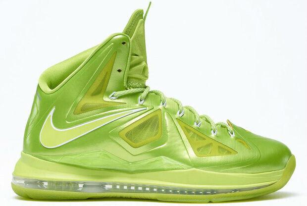 Nike - LeBron X 'iD Fluor Green'