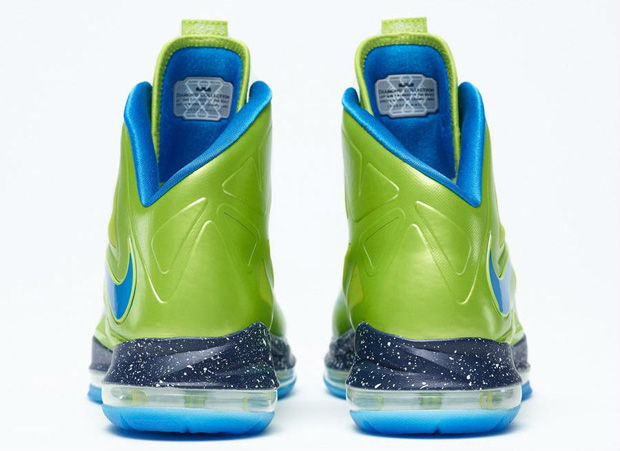 Nike - LeBron X 'iD Fluor Green/Blue'