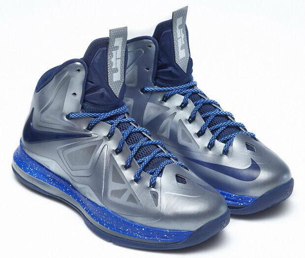 Nike - LeBron X 'iD Metal Blue'