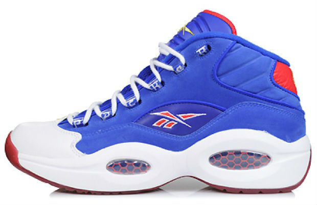 Reebok – Question 'White/Navy - #7'
