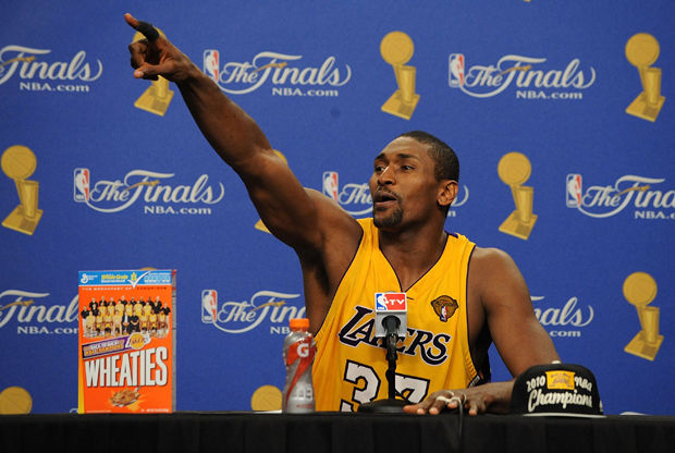 Metta World Peace ./ Getty Images