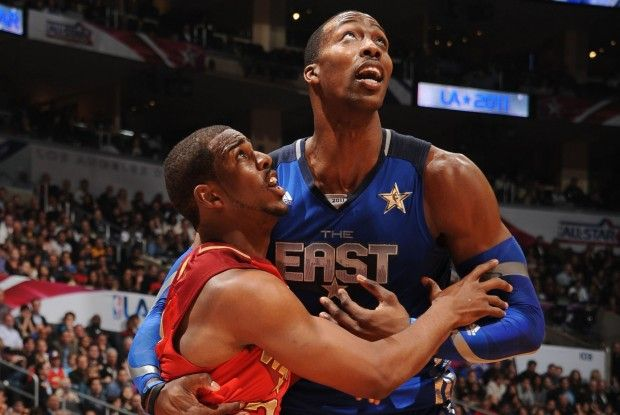 Chris Paul y Dwight Howard./ Geyy Images