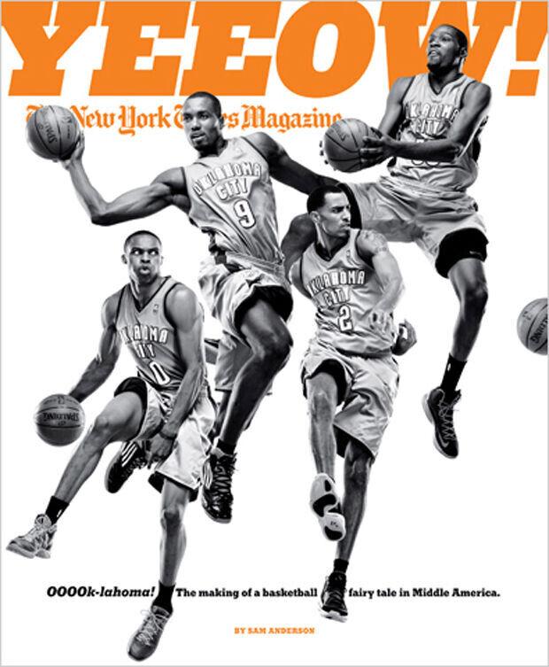 Oklahoma City Thunder es portada de NYT Magazine