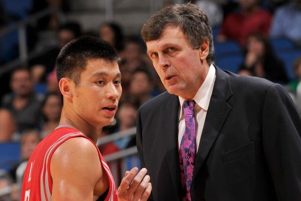 Jeremy Lin y Kevin McHale./ Getty Images