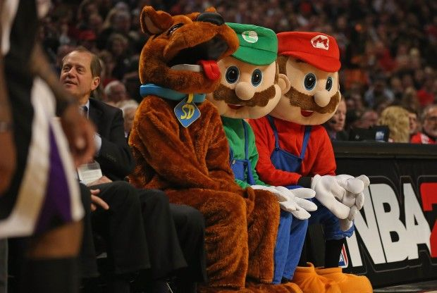 Scooby Doo, Luigi y Mario Bros./ Getty Images